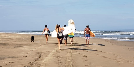 Surf Camp - Riviera Nayarit - 3 days, 3 surf spots, 3 yoga sessions tickets