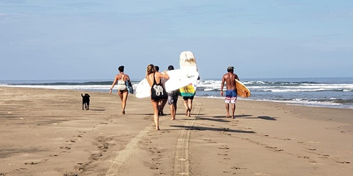Surf Camp - Riviera Nayarit - 3 days, 3 surf spots, 3 yoga sessions