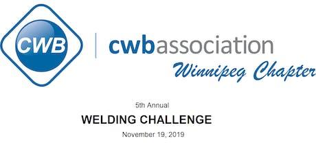 CWBA Winnipeg 5th Annual Welding Challenge tickets