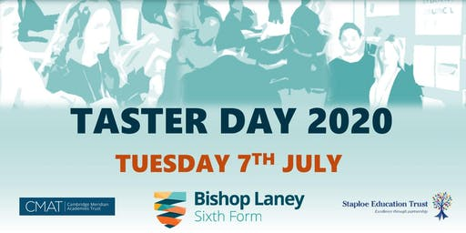 Bishop Laney Taster Day 2020