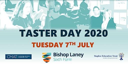 Bishop Laney Taster Day 2020