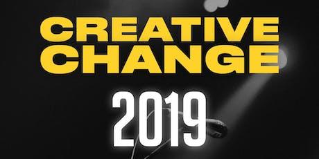 Creative Change 2019 tickets