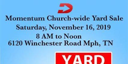 Momentum Church-wide Yard Sale