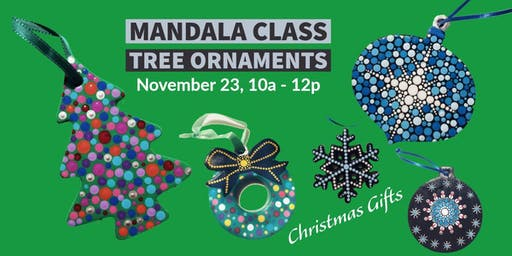 Mandala Tree Ornaments