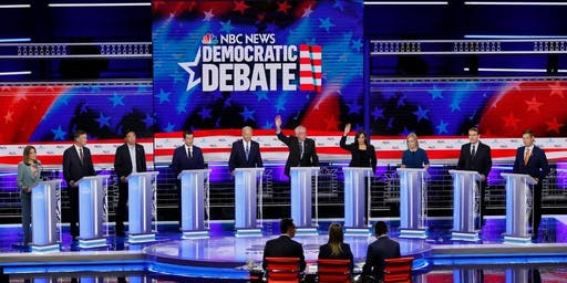 Jax for Bernie Debate Watch Party