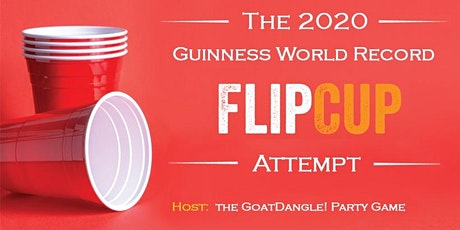 2020 Flip-Cup World Record Attempt tickets
