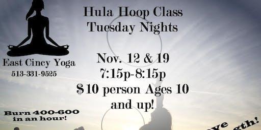Hula Hoop Class