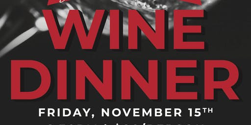 Wine Dinner featuring  Caymus and other Wagner win