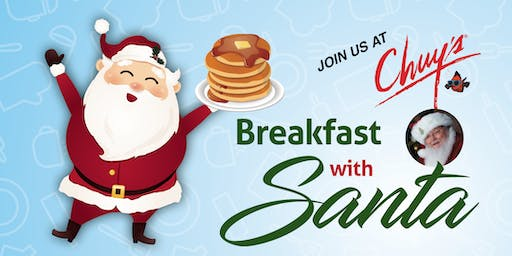 Parkside Town Commons Santa Breakfast 2019