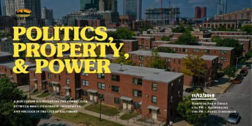 Politics, Property & Power