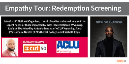 Empathy Tour: Redemption Project Screening – Cheyenne, WY