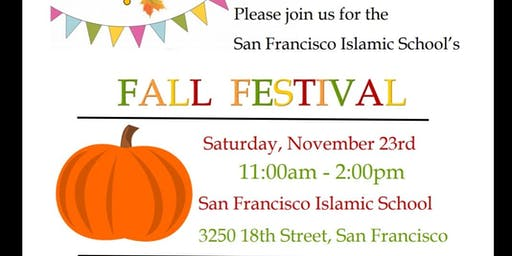 San Francisco Islamic school Fall Festival