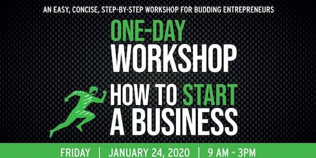 How To Start A Business One-Day Workshop tickets