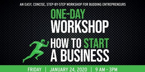 How To Start A Business One-Day Workshop