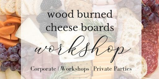 Wood Burned Cutting Boards | Friendsgiving at Aviara