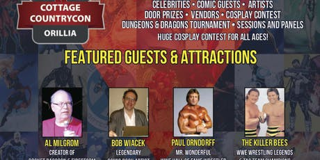 Cottage Country Comic-Con tickets