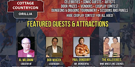 Cottage Country Comic-Con ingressos