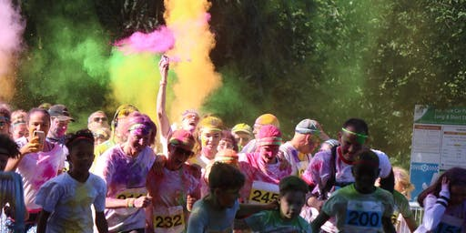 Colour Run Hertford 2020