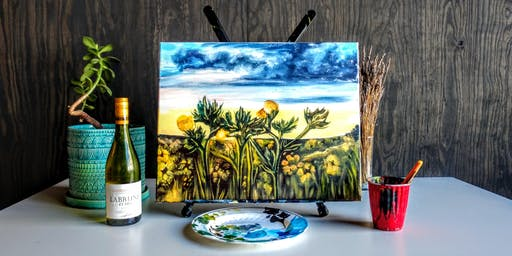 Friday Night Paint & Sip featuring Joey Henry