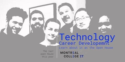 Technology Career Development Open house