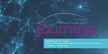 TechWadi Annual Forum 2020 - Journeys tickets