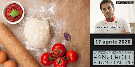 La Pizza Gourmet con lievito Madre senza glutine con lo chef Marco Scaglione