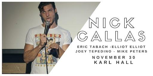 Nick Callas w/ Eric Tabach, Elliot Elliot, Joey Tepedino, Mike Peters