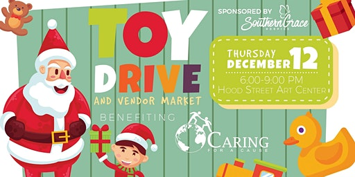 Small Business Toy Drive benefitting Caring For a Cause