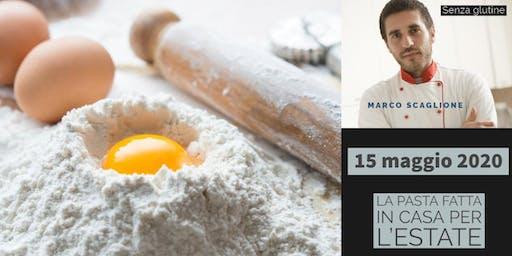 La pasta per l'estate senza glutine con lo chef Marco Scaglione