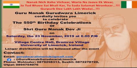 The 550th Birthday Celebrations of Shri Guru Nanak Dev Ji tickets