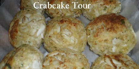 Crabcake Tour 3 crabcakes jump on party bus tickets