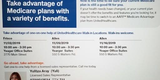 Medicare Community Walks-In Meetings
