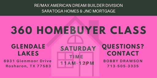 360 Homebuyer Class / Glendale Lakes, Rosharon, TX 77583