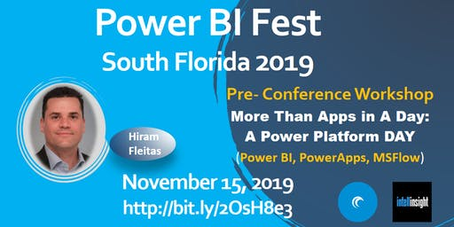More Than Apps in A Day: A Power Platform (Power BI, PowerApps, MSFlow) Day