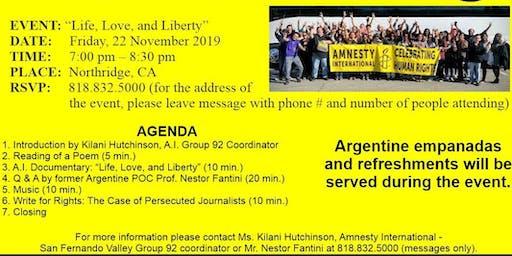 AMNESTY INTERNATIONAL HUMAN RIGHTS DAY (San Fernando Valley, Group 92)