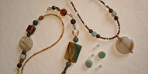 Beading in the Afternoon (Richvale Library) Session 1 - Necklace