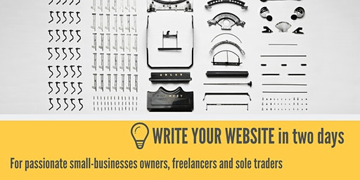 Write Your Website Workshop
