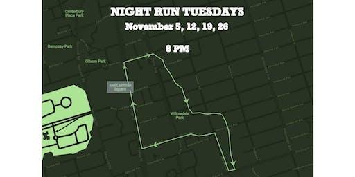 Night Run Tuesday: Meditative Running