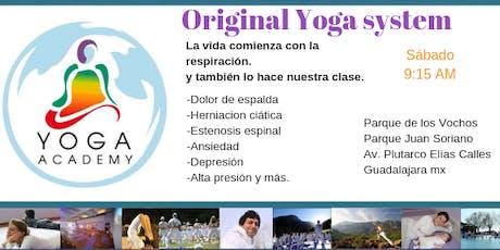 Yoga Academy-Original Yoga System  entradas