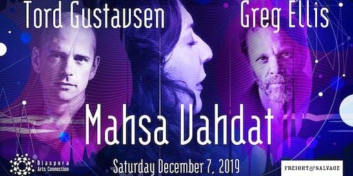 Tord Gustavsen, Mahsa Vahdat, & Greg Ellis