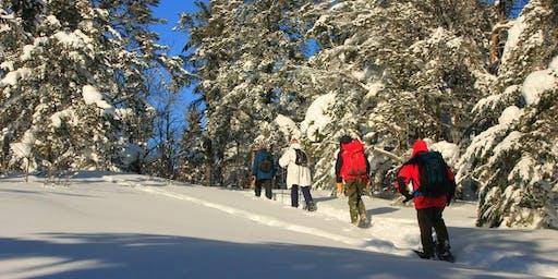 Snowshoe at Leveaux Mountain