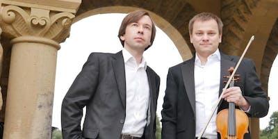 DUO ART - Pianist Sasha Burdin and Violinist Leonid Iogansen.