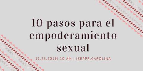 10 pasos para el empoderamiento sexual entradas