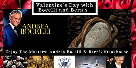 Valentine's Day with Bocelli and Bern's tickets