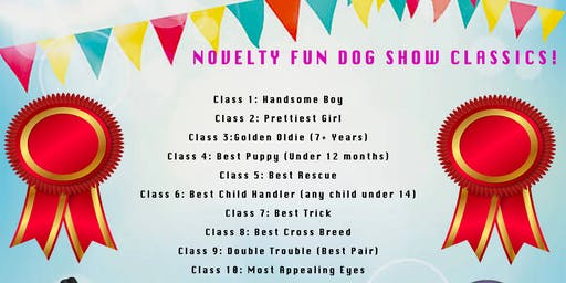 Woofers and Fluffers Pet Supplies Fun Dog Show