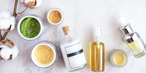Natural Organic Skin Care Soiree
