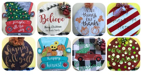 Holiday Sign Painting