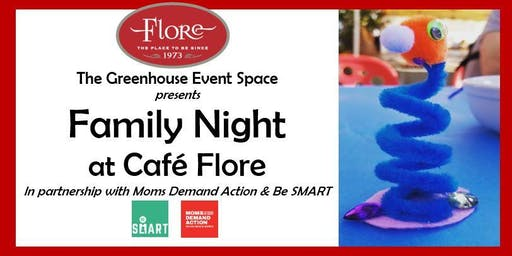 Family Night At Cafe Flore