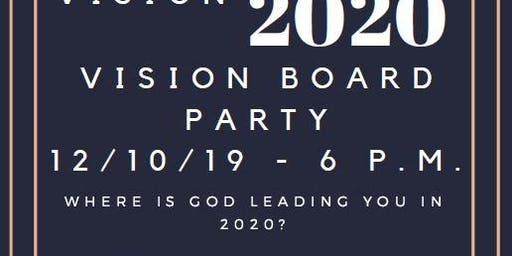Vision 2020: Vision Board Party