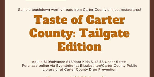 Taste of Carter County: Tailgate Edition